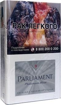 Parliament Platinum Blue
